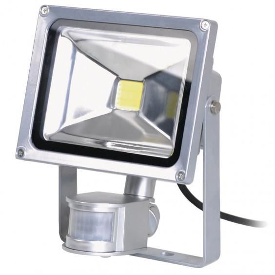 Projecteur LED COB Extérieur 20W Détecteur de Présence WOLTZ