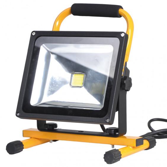Projecteur à LED COB 30W portable