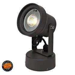 Spot à fixer LED 12W gris
