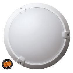 Hublot plastique extérieur LED SMD - Blanc