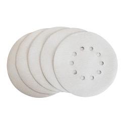 Lot de 5 disques abrasifs blanc Ø225mm G150 pour 2350006, 235020 et 235021