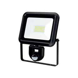 PROJECTEUR LED EXTRA PLAT 30W+DETECTEUR+CABLE 50CM