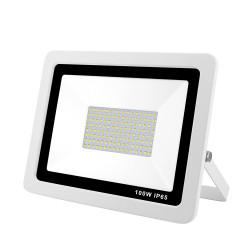 NEW PROJ LED EXTRA PLAT 100W BLANC+CABLE 50CM