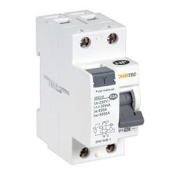 Interrupteur différentiel 1P+N 63A type AC