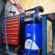 Compresseur vertical coaxial 75L 2.5CV + kit pneumatique 8 pièces