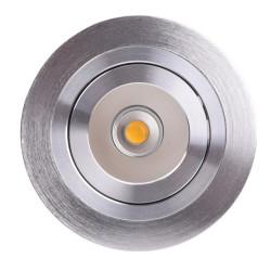 Spot LED COB orientable encastrable 5W