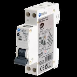 Disjoncteur à vis 10A - 1P+N - 3kA