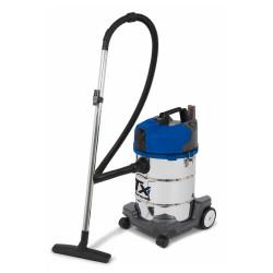 Aspirateur eau et poussières sans sac - 1400W 30L inox