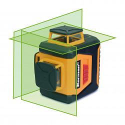 Niveau laser 360° 3 plans faisceau vert