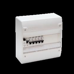 Tableau Électrique Pré Câblé 1 rangée idéal T1 1ID 5 Disjoncteurs NF NALTO