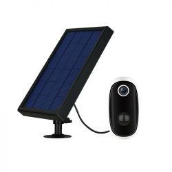 Caméra de Surveillance sans fil WiFi + Panneau Solaire + Batterie Rechargeable 6000mA DIOD