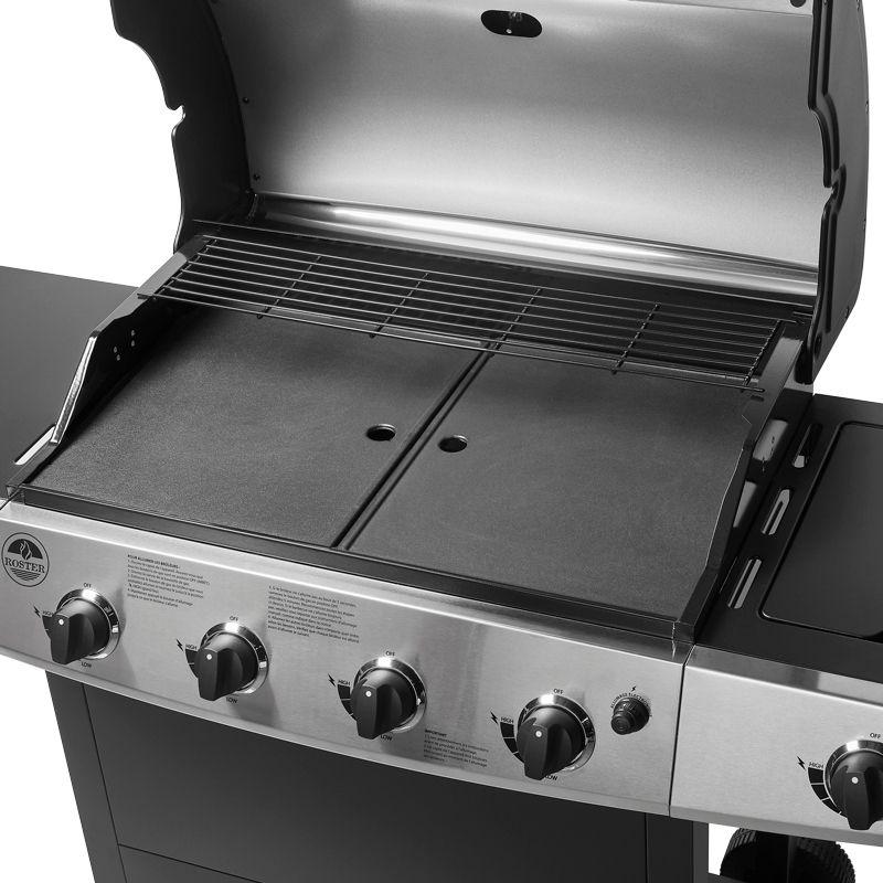 Pack Barbecue Gaz 5 Brûleurs PlanchaGrillLatéral