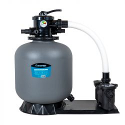 Groupe de filtration 0.75CV 14m³/h Ø535mm vanne Top 6 voies STEINER
